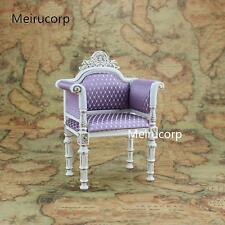 Dolls Furniture 1/6 scale Luxuriant Handmade white Chair