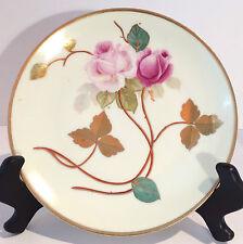 Antique Thomas Bavaria Hand Painted Plate, 1908-1939