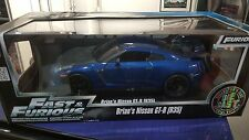 JADA 1:18 Fast and Furious 7 - Brian's Nissan GT-R R35 - Blue