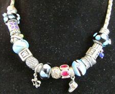 Pandora Lot 925 ALE 19 Beads Dangle, Jems, & 1 Necklace 100% Authentic
