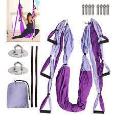 Aerial Yoga Flying Swing Hammock Trapeze Sling Inversion Gym Home Fitness Tool