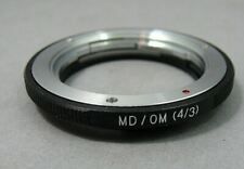 Minolta / OM (4/3) adapter ring.