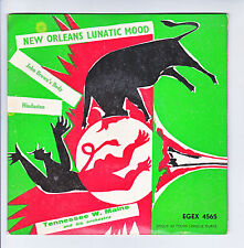 """TENNESSEE W. MAINE Orchestra Disque 45T 7"""" EP NEW ORLEANS LUNATIC MOOD -GEM RARE"""