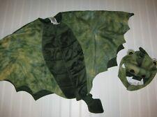 Preowned Gymboree Halloween Shop 3T-4T Green Dragon Costume EUC