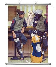 Naruto Anime Iruka, Tsunade & Kakashi Wall Scroll Extra Large Size - 60x90 CM