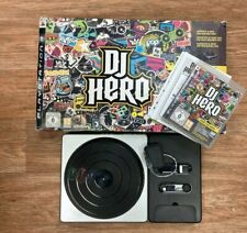 DJ Hero Playstation 3 Game & Turntable Kit + USB Receiver Instructions Boxed