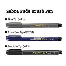 Zebra brush pen brush sign, Fine/Medium/Extra Fine 3 Size Set MADE IN JAPAN