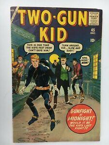 Marvel Western Comic TWO-GUN KID #45 - Jack Davis Cover, Stan Lee