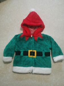 Baby Elf Fluffy Jacket 9-12 Months Height 80cm Weight 24lbs/11kg  Unisex