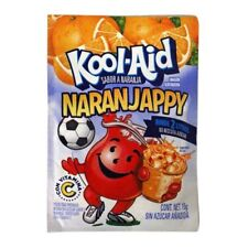 Kool-Aid NaranJappy/ Orange Drink Mix 15g (10 Pack) Ex. Flavor from Mex.