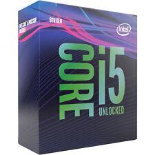 New Intel Core i5-9600K Coffee Lake 6-Cores 3.7GHz Unlocked Desktop Processor