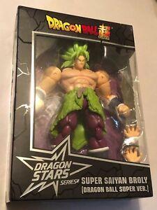 "Bandai Dragon Ball Super Dragon Stars ""Super Saiyan Broly"" 6in Figure *NEW*"