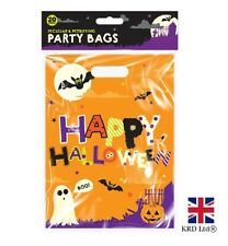 20x HALLOWEEN PARTY BAGS Loot Sweet Bag Trick Or Treat Day Of Dead HAL0910 UK