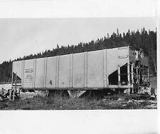 O716 RP 1950s WABUSH TRAIN RAILROAD ORE CAR#403  LABRADOR PQ QUE