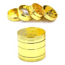 4 Layers Metal Herb Crusher Smoke Herbal Herb Grinder Hand Muller Gold Wholesale