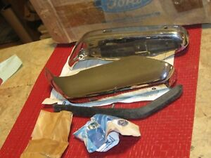 NOS 1972 Ford LTD,Galaxie rear Bumper Guard, Pair, see description