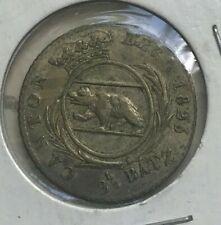 1826 Switzerland Bern Canton 2-1/2 Batzen - Nice Silver