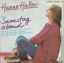 """Hanne Haller - Am Samstag abend -  Vinyl Single 7"""""""