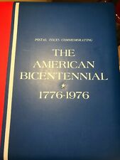 US STAMP COLLECTION -776-1976 AMERICAN BICENTENNIAL ALBUM 75 PAGES WITH STAMPS