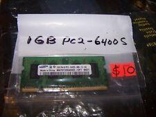 Samsung 1GB PC2-6400S-666-12-A3 SODIMM