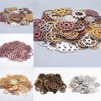 25/50/100g Watch Parts Steampunk Jewellery Art Craft Cyberpunk Cogs Gears DIY