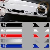 1 X BANDE ABARTH RACING TABLEAU DE BORD POUR FIAT 500 DECO AUTOCOLLANT BD536-4