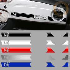 1 X BANDE ABARTH RACING TABLEAU DE BORD FIAT 500 DECO AUTO STICKER BD536-4