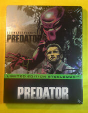 Predator 3D Steelbook Bluray Filmarena Edition New & Sealed