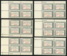 1960 4c US Postage Stamps Scott 1141 Thomas Jefferson American Credo Lot of 24 B