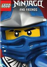 LEGO Ninjago and Friends (DVD, 2014) BRAND NEW