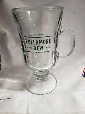 Tullamore Dew Whiskey Irish Coffee Footed Pilsner 2 Glasses Kit Heater Set