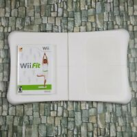 Wii Fit Balance Board - Wii Fit Disc Nintendo Tested & Working FAST SHIPPING