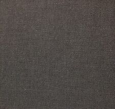 "BALLARD DESIGNS CLAIRE GRAY WOVEN LINEN LIKE HEMP GREY FABRIC 2.5 YARDS 54""W"