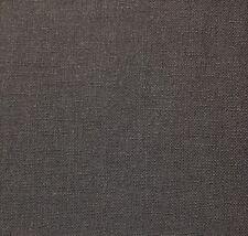 "BALLARD DESIGNS CLAIRE GRAY WOVEN LINEN LIKE HEMP GREY FABRIC 1.5 YARDS 54""W"