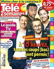 TELE 2 SEMAINES N°264 8 FEVRIER 2014  19H TV/ JO SOTCHI/ BROADCHURCH/ BACON