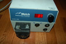 Welch Rietschie Thomas Peristaltic pump model 3200 variable speed digital