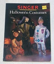 Singer HALLOWEEN COSTUMES Sewing Reference Library Step by Step Instructions VGC