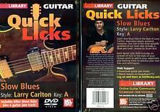 Quick Licks; Larry Carlton, Lick Library; Guitar Licks