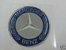 49mm Wheel Center Emblem for Mercedes Benz -NEW- #796C