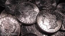 (1) Uncirculated Morgan Silver Dollar BU US Coin Lot Set 1878-1899 (RAW)