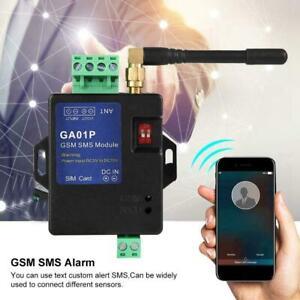 GA01P GSM SMS Call Alarm Alert Smart Remote Power Failure Security Alert DC5-15V