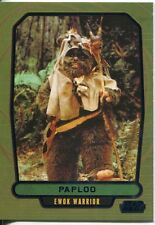 Star Wars Galactic Files 2 Blue Parallel Base Card #521 Paploo