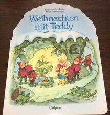 """Lustiges Bilderbuch v. Fritz Baumgarten """"Weihnachten mit Teddy"""", Titania-Verlag"""