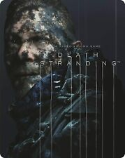 Death Stranding PLAYSTATION 4 Steelbook Étui Seulement Non Jeu Neuf