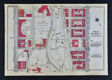 1934 Bromley Map - New York City College Jasper Field Lewisohn Stadium Convent