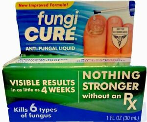 Fungi Cure Anti-Fungal Liquid Max Strength  Kills 6 Types of Fungus  11/2022