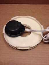 Replacement Rotation Disc Motor 120v Used In Several Gemmy Airblown Inflatables
