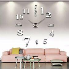 orologio da parete effetto tridimensionale gigante moderno decorazione casa new