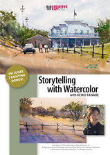 STORYTELLING WITH WATERCOLOR WITH KEIKO TANABE - ART EDUCATION DVD