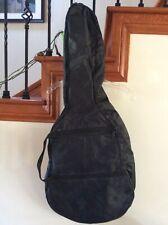 "Guitar Padded Bag Soft Case 23""H X3.5""W Black Nylon Carryng Handles**++"